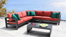 Cabana Coast Aluminum Outdoor Patio Furniture