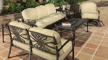 Captivating Gensun Aluminum Outdoor Patio Furniture