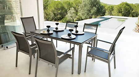 Gloster Aluminum Outdoor Patio Furniture - Gloster® Aluminum Outdoor Furniture - Patio Land USA
