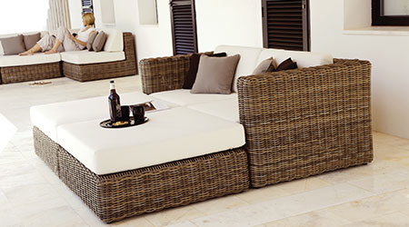 Gloster® Wicker Furniture · Gloster Wicker Outdoor Patio Furniture