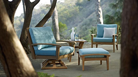 Gloster Wood Outdoor Patio Furniture