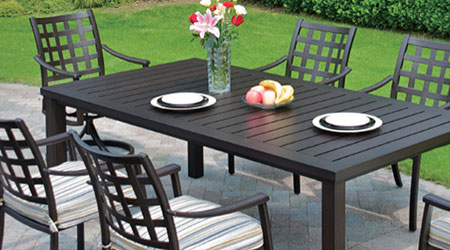 Hanamint Aluminum Outdoor Patio Furniture - Hanamint® Aluminum Outdoor Furniture - Patio Land USA
