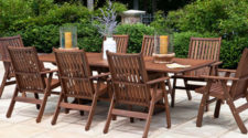 Jensen Leisure Wood Outdoor Patio Furniture