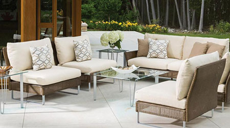 Lloyd Flanders Wicker Outdoor Patio Furniture
