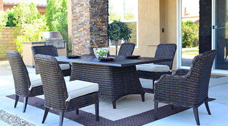 Patio Renaissance Wicker Furniture Patio Land USA - Outdoor patio furniture wicker