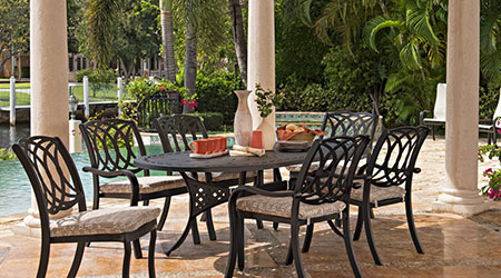 telescope aluminum outdoor patio furniture - Telescope Patio Furniture