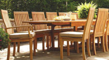 Three Birds Wood Outdoor Patio Furniture