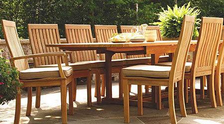 Three Birds Wood Outdoor Patio Furniture
