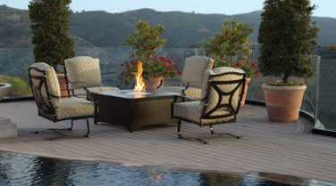 Tropitone Fire Pit Outdoor Accessories