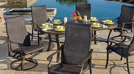 Tropitone Wicker Outdoor Patio Furniture