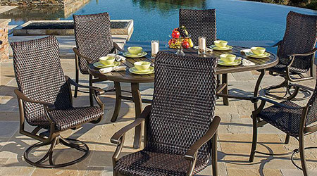 Tropitone 174 Wicker Furniture Patio Land Usa
