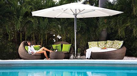 Tuuci Umbrellas Outdoor Patio Furniture