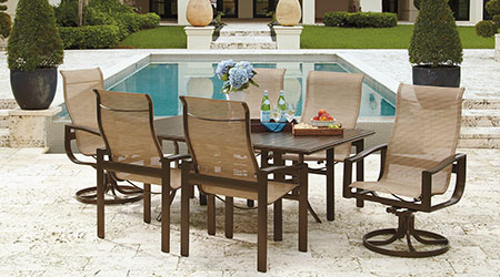 Beau Winston Aluminum Outdoor Patio Furniture