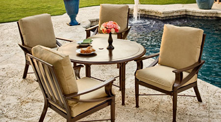 Wonderful Woodard Aluminum Outdoor Patio Furniture