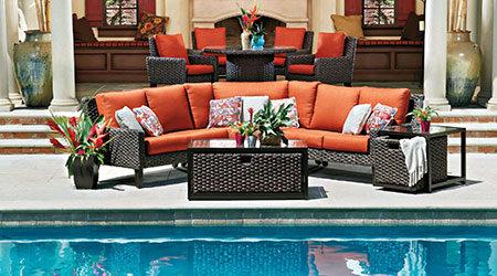 Woodard Wicker Outdoor Patio Furniture