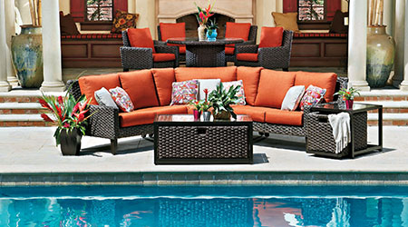 Woodard Wicker Outdoor Patio Furniture