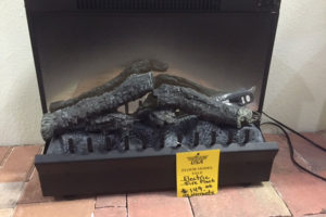 23″ Electric Fireplace Insert