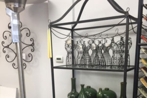 Iron Indoor Bakers Rack