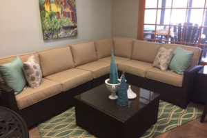 All Weather Wicker Sectional