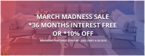 """March Madness"" Sale"