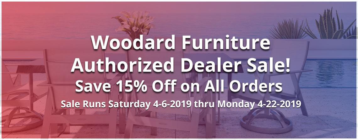 Woodard Furniture Authorized Dealer Sale!