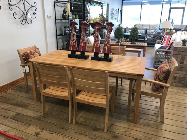 3 Birds 7pc. Teak Dining Set