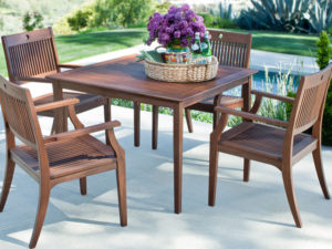 What Is The Right Finish For Your Patio Table