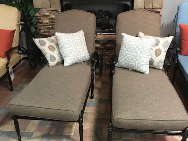 Gensun 2pc. Cushion Chaise Set