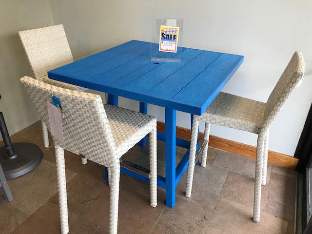 Skyline 5pc. Bar stools & Table