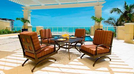 Windham Aluminum Outdoor Patio Furniture