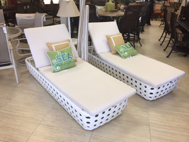 All Weather Wicker Chaise